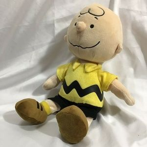 Charlie Brown Stuffed Plush Toy Kohls Cares Doll